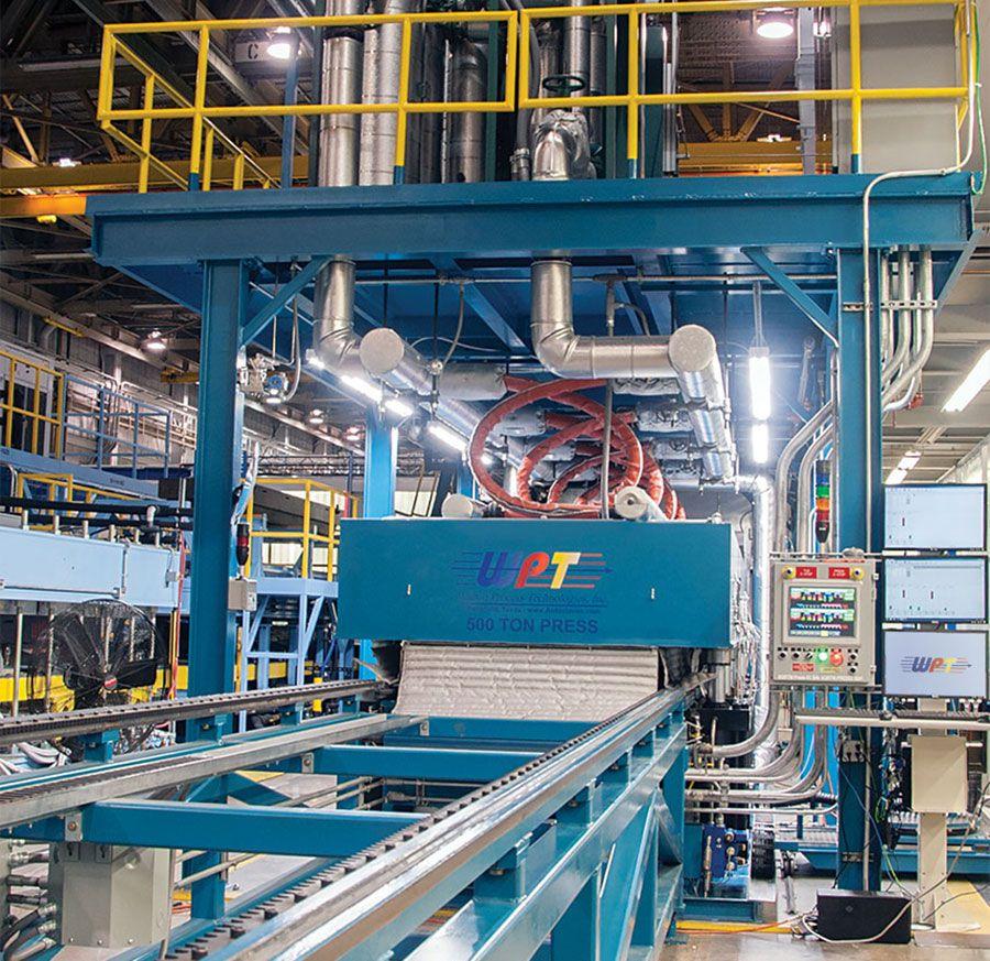 500 Ton Press | Walton Process Technologies